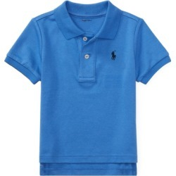 Ralph Lauren Soft Cotton Polo Shirt in Blue - Size 3M found on Bargain Bro from Ralph Lauren for USD $22.42