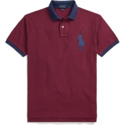 Ralph Lauren Custom Slim Fit Mesh Polo in Classic Wine - Size S found on Bargain Bro India from Ralph Lauren for $98.50