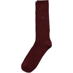 Ralph Lauren Egyptian Cotton Ribbed Socks in Wine - Size One Size found on Bargain Bro Philippines from Ralph Lauren for $12.00