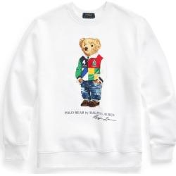Ralph Lauren Polo Bear Fleece Sweatshirt in White - Size S found on Bargain Bro from Ralph Lauren for USD $16.71
