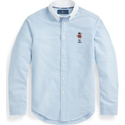 Ralph Lauren Polo Bear Cotton Oxford Shirt in Bsr Blue - Size XL found on Bargain Bro Philippines from Ralph Lauren for $55.00