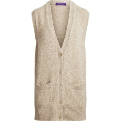 Ralph Lauren Mouliné Cashmere Cardigan in Fawn - Size XS found on Bargain Bro from Ralph Lauren for USD $1,436.40