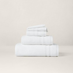 Ralph Lauren Payton Towels & Mat in Spa White - Size Bath Mat found on Bargain Bro from Ralph Lauren for USD $17.47