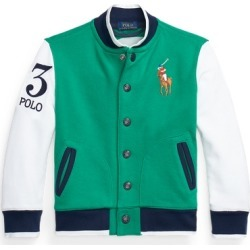 Ralph Lauren Twill Terry Baseball Jacket in Billiard - Size 3T found on Bargain Bro India from Ralph Lauren for $115.00
