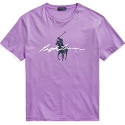 Ralph Lauren Classic Fit Big Pony Logo Jersey T-Shirt in Hampton Purple - Size XS found on Bargain Bro India from Ralph Lauren for $55.00