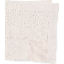 Ralph Lauren Bear Pointelle Cotton Blanket in Delicate Pink - Size One Size found on Bargain Bro India from Ralph Lauren for $85.00