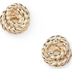 Ralph Lauren Gold-Tone Rope Knot Earrings in Gold - Size One Size found on Bargain Bro from Ralph Lauren for USD $19.00