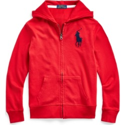 Ralph Lauren Big Pony Spa Terry Hoodie in RL 2000 Red - Size S found on Bargain Bro from Ralph Lauren for USD $27.35