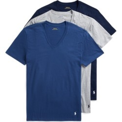 Ralph Lauren Classic V-Neck 3-Pack in Blue, Grey & Navy - Size L found on Bargain Bro from Ralph Lauren for USD $32.30