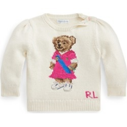 Ralph Lauren Polo Bear Cotton Sweater in Clubhouse Cream - Size 6M found on Bargain Bro Philippines from Ralph Lauren for $145.00