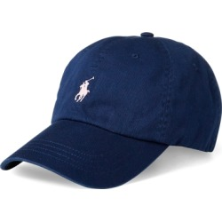 Ralph Lauren Pink Pony Cotton Ball Cap in Spring Navy/ Pink Pp - Size ONE SIZE found on Bargain Bro from Ralph Lauren for USD $30.02