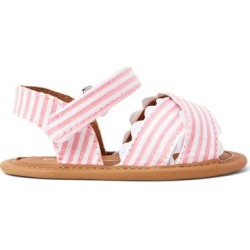 Ralph Lauren Trace Striped Sandal in Light Pink - Size 2 (3-6 MOS) found on Bargain Bro India from Ralph Lauren for $50.00