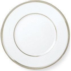 Ralph Lauren Wilshire Salad Plate in Silver/White - Size One Size found on Bargain Bro from Ralph Lauren for USD $38.00