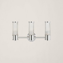 Ralph Lauren Allen Triple Sconce in Polished Nickel - Size One Size found on Bargain Bro from Ralph Lauren for USD $911.24