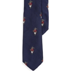 Ralph Lauren Polo Bear Silk Tie in Navy - Size 4-7 found on Bargain Bro from Ralph Lauren for USD $36.47