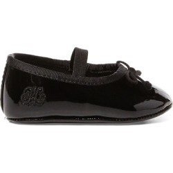 Ralph Lauren Allie Faux-Leather Ballet Flat in Black Patent - Size 2 (3-6 MOS) found on Bargain Bro India from Ralph Lauren for $42.00
