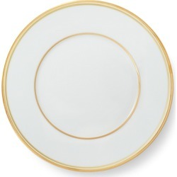 Ralph Lauren Wilshire Salad Plate in Gold/White - Size One Size found on Bargain Bro from Ralph Lauren for USD $38.00