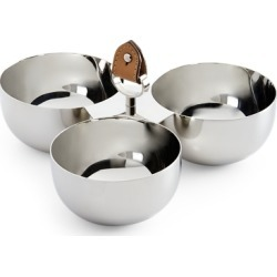 Ralph Lauren Wyatt Triple Nut Bowl in Silver/Saddle - Size One Size found on Bargain Bro Philippines from Ralph Lauren for $95.00