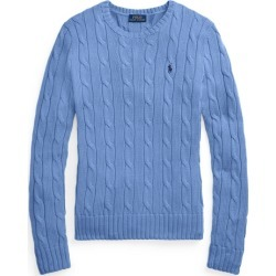 Ralph Lauren Cable-Knit Cotton Sweater in Harbor Island Blue - Size XS found on Bargain Bro from Ralph Lauren for USD $97.28