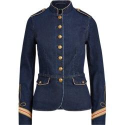 Ralph Lauren Denim Officer's Jacket in Dark Worn Wash - Size 16 found on Bargain Bro Philippines from Ralph Lauren for $245.00