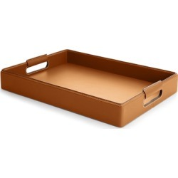 Ralph Lauren Wyatt Tray in Saddle - Size Large found on Bargain Bro from Ralph Lauren for USD $604.20