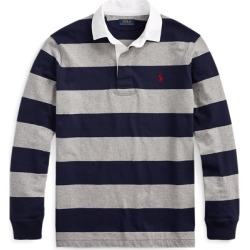 Ralph Lauren The Iconic Rugby Shirt in League Heather/French Nav - Size M found on Bargain Bro India from Ralph Lauren for $98.50