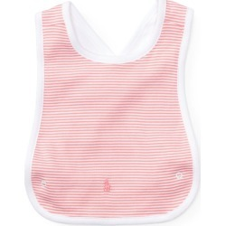 Ralph Lauren Striped Cotton Cross-Back Bib in Paisley Pink Multi - Size One Size found on Bargain Bro India from Ralph Lauren for $15.00