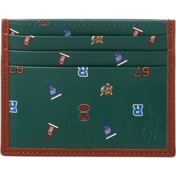 Ralph Lauren Leather Card Case in Saddle - Size One Size found on Bargain Bro Philippines from Ralph Lauren for $49.99