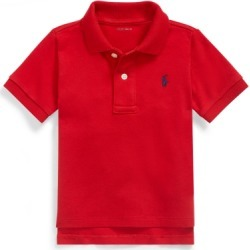 Ralph Lauren Soft Cotton Polo Shirt in RL 2000 Red - Size 6M found on Bargain Bro India from Ralph Lauren for $29.50