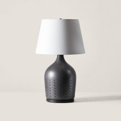 Ralph Lauren Halifax Small Table Lamp in Black - Size One Size found on Bargain Bro Philippines from Ralph Lauren for $799.00