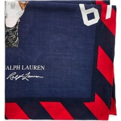 Ralph Lauren Polo Bear Cotton Bandanna in Riding Bear - Size One Size found on Bargain Bro from Ralph Lauren for USD $28.88