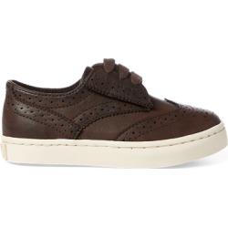Ralph Lauren Alex Wingtip Oxford Sneaker in Chocolate Burnished - Size 4 found on Bargain Bro from Ralph Lauren for USD $30.40