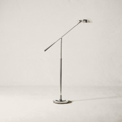 Ralph Lauren Equilibrium Floor Lamp in Polished Nickel - Size One Size found on Bargain Bro Philippines from Ralph Lauren for $1399.00