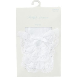 Ralph Lauren Ruffled Lace Tights in White - Size 6-12M found on Bargain Bro India from Ralph Lauren for $57.00