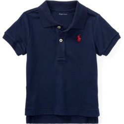 Ralph Lauren Soft Cotton Polo Shirt in French Navy - Size 24M found on Bargain Bro from Ralph Lauren for USD $22.42