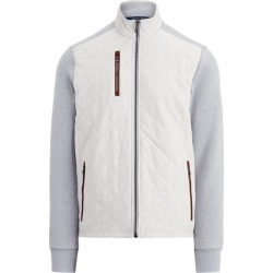 Ralph Lauren Quilted Mockneck Jacket in Light Grey/Channel Grey - Size S found on Bargain Bro Philippines from Ralph Lauren for $248.00
