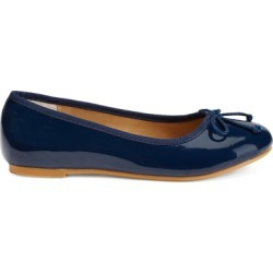 Ralph Lauren Nellie Leather Ballet Flat in Navy Patent - Size 1 found on Bargain Bro Philippines from Ralph Lauren for $80.00