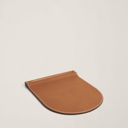 Ralph Lauren Brennan Mouse Pad in Saddle - Size One Size