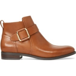 Ralph Lauren Banbury Leather Bootie in Deep Saddle Tan - Size 7.5 found on Bargain Bro Philippines from Ralph Lauren for $150.00