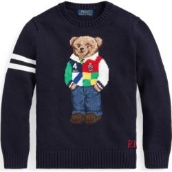 Ralph Lauren Polo Bear Cotton Sweater in RL Navy - Size M found on Bargain Bro from Ralph Lauren for USD $91.19