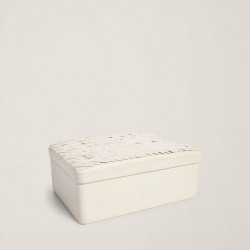Ralph Lauren Adrienne Box in Cream - Size One Size