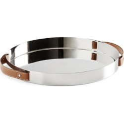 Ralph Lauren Wyatt Stainless Steel Tray in Silver - Size One Size