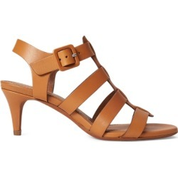 Ralph Lauren Vachetta Leather Sandal in Cuoio - Size 7 found on Bargain Bro from Ralph Lauren for USD $302.48