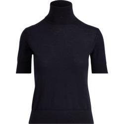 Ralph Lauren Cashmere Short-Sleeve Turtleneck in Midnight - Size S found on Bargain Bro India from Ralph Lauren for $790.00
