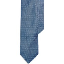 Ralph Lauren Pin Dot Silk Narrow Tie in Royal/White - Size One Size found on Bargain Bro from Ralph Lauren for USD $75.99