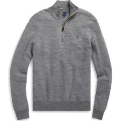 Ralph Lauren Washable Merino Wool Sweater in Grey Two Tone - Size XXL