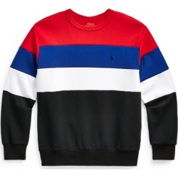 Ralph Lauren Color-Blocked Double-Knit Sweatshirt in RL 2000 Red Multi - Size XL found on Bargain Bro from Ralph Lauren for USD $23.55