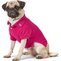 Ralph Lauren Cotton Mesh Dog Polo Shirt in Aruba Pink - Size M found on Bargain Bro Philippines from Ralph Lauren for $40.00
