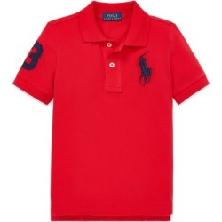 Ralph Lauren Big Pony Cotton Mesh Polo in RL 2000 Red - Size 4T found on Bargain Bro from Ralph Lauren for USD $30.02