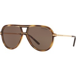 Ralph Lauren Automotive Pilot Sunglasses in Brown - Size One Size found on Bargain Bro from Ralph Lauren for USD $178.60